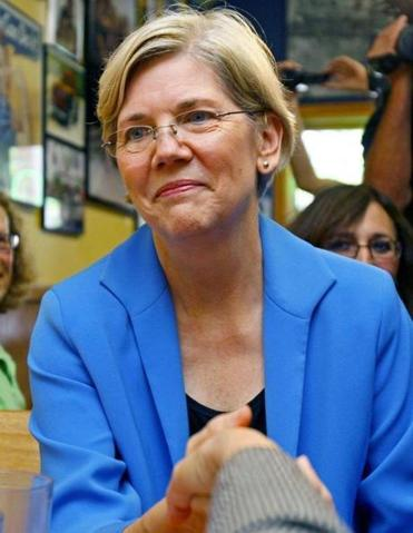 WARREN: Her academic background makes her s urefire target.